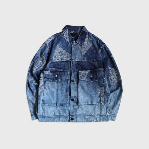 ICE BLOCK JACQUARD JACKET