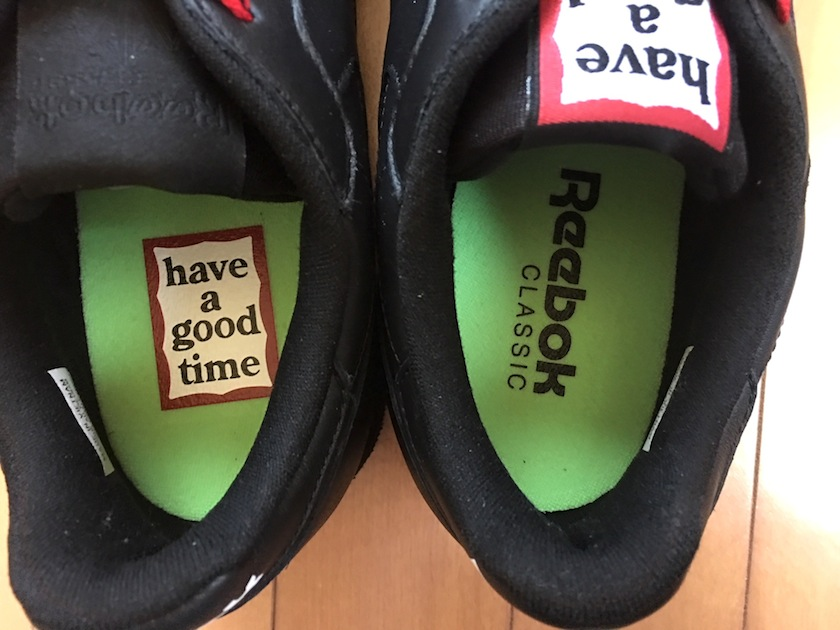 Reebok CLASSIC×have a good time