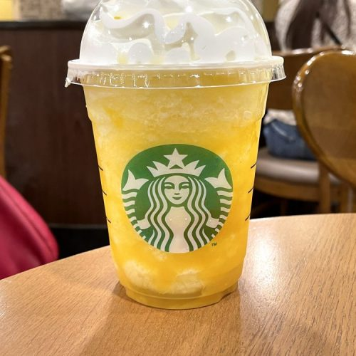 GO パイナップル フラペチーノ スターバックスコーヒー