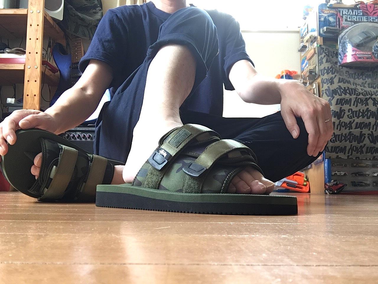 STÜSSY SUICOKE MOTO-STU Sandal