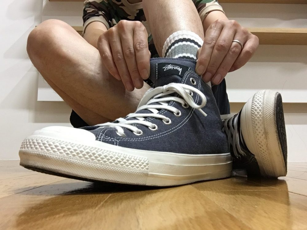Stüssy Converse Pigment Dyed All Star 100 Hi