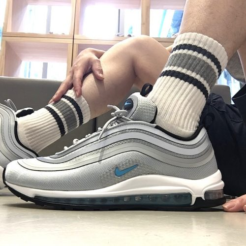 NIKE W AIR MAX 97 UL '17 WOLF GREY/MARINA BLUE-BLACK