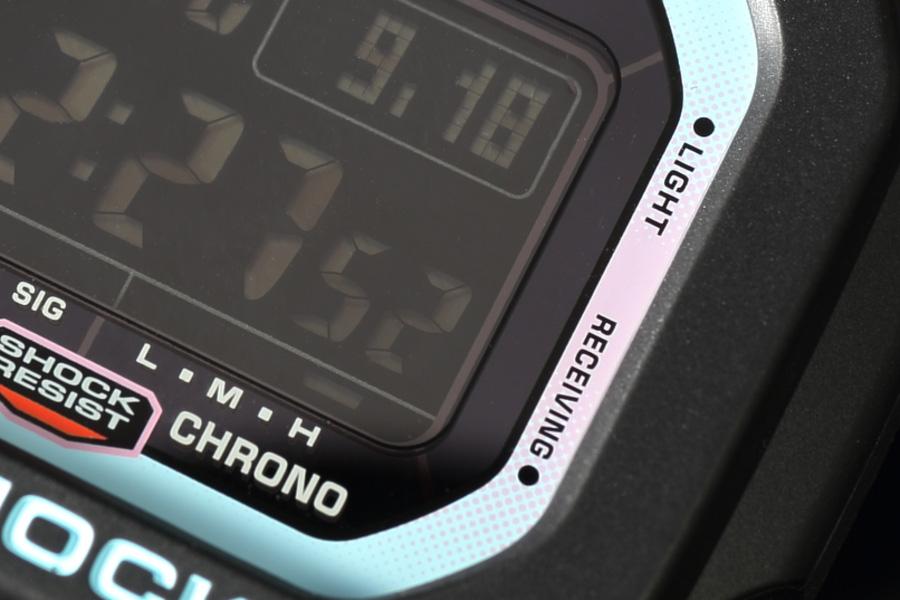 カシオ G-SHOCK ネオンアクセントカラー GW-M5610PC-1JF