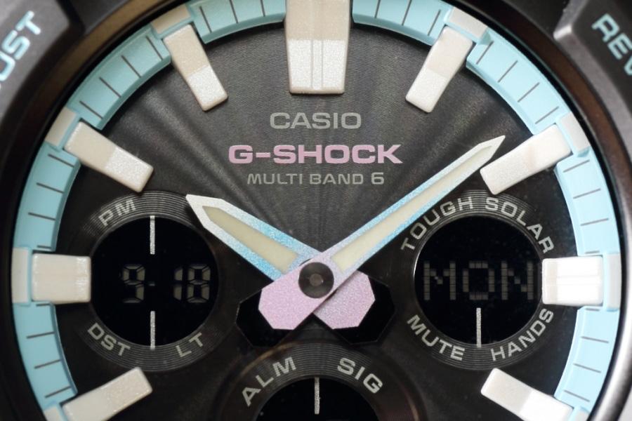 カシオ G-SHOCK ネオンアクセントカラー GAW-100PC-1AJF