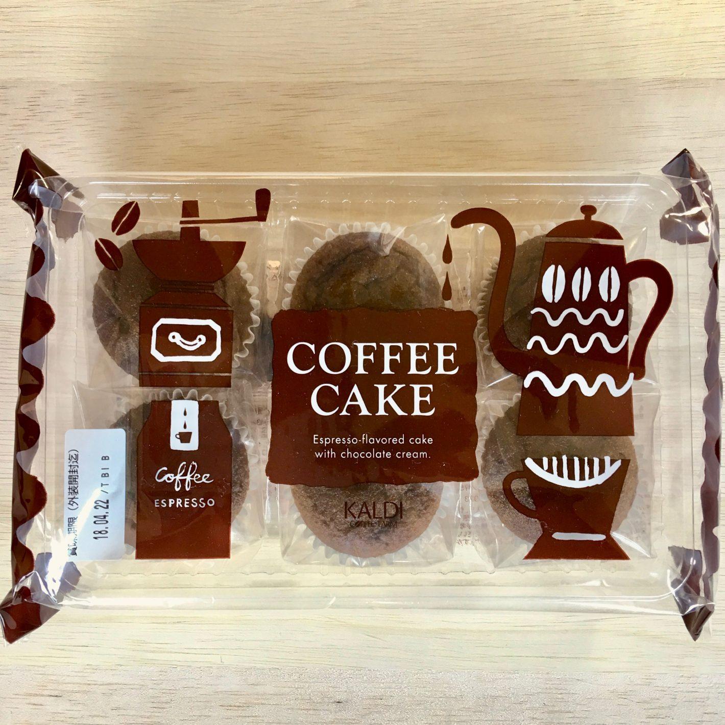 カルディ・コーヒーケーキ・パッケージ全体