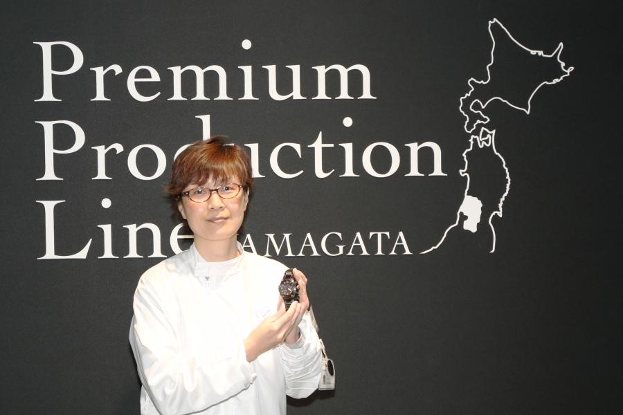 G-SHOCKを作っている山形カシオの土井直美さん