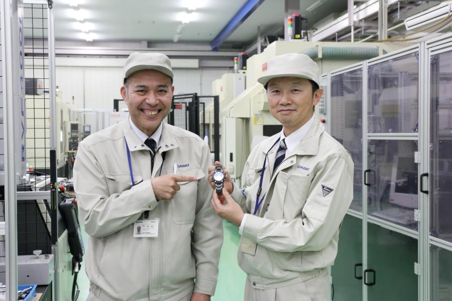 G-SHOCKを作っている山形カシオの部品製造工場