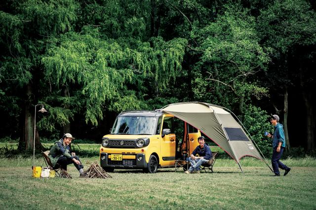 スズキ SUZUKI スペーシアギア スペーシア spaciagear 軽自動車 アウトドア outdoor キャンプ camp デイキャンプ daycamp オートキャンプ autocamp