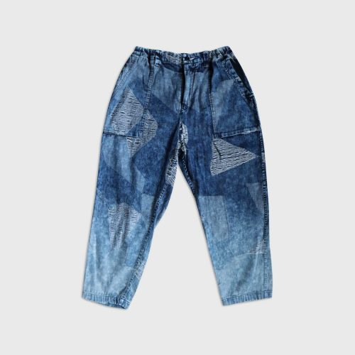 ICE BLOCK JACQUARD PANTS