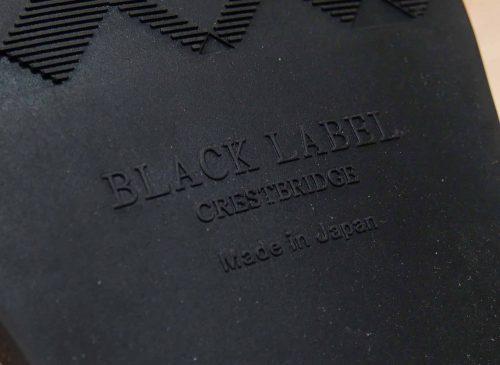 ブラックレーベル クレストブリッジ スウェードローファー
