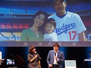ゲストは木佐彩子・石井一久夫妻。My Hystoryなどについて言及していた。