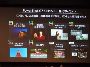 DIGIC 7を搭載することで、さまざまな画質向上がはかられている。