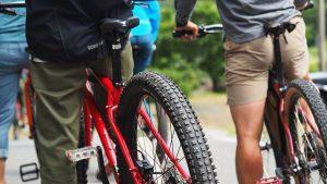 自転車×キャンプ