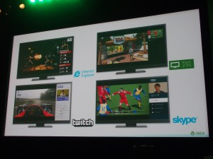 IEやTwitch、テレビアプリ、Skypeなどのアプリが対応予定。