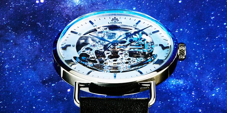 LOBOR ロバー 腕時計 香港発 アンダー3万円 機械式時計