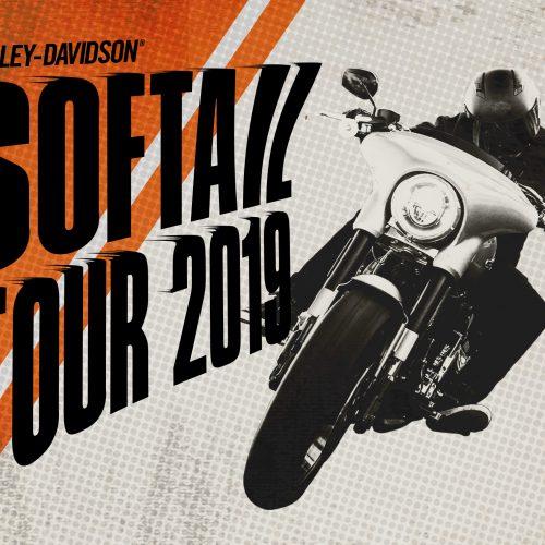 ハーレーダビッドソンの主力シリーズの魅力に触れることができる「ソフテイルツアー2019」が開催!