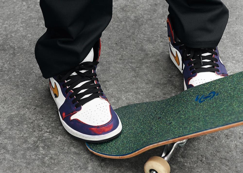 The Ones×Skateboarding