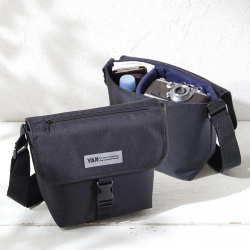 ヴァンのショルダーバッグは、仕切りパッドで自由にレイアウトできるんです!【7月25日発売!MonoMaster9月号特別付録】
