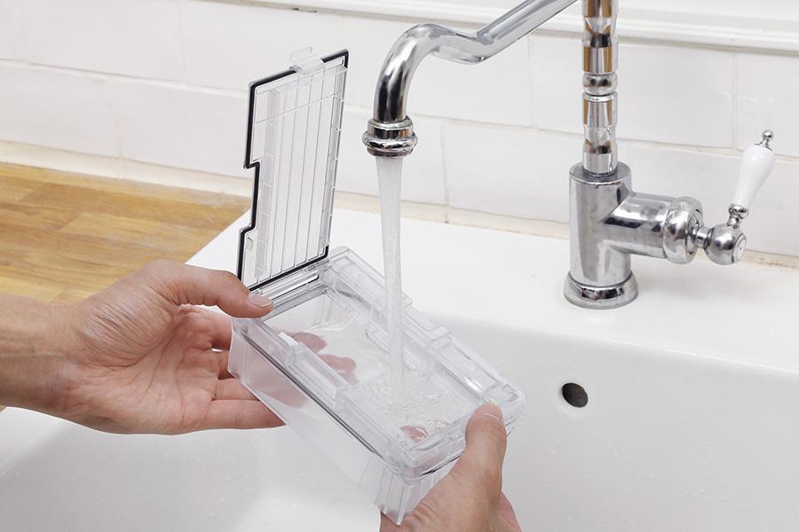 ロボロック「Roborock S7+」は各パーツの水洗いが可能