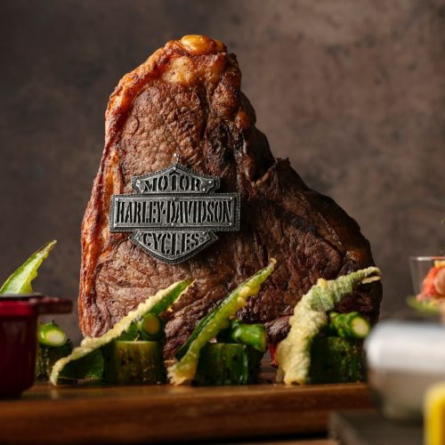 食からハーレーダビッドソンの世界を感じる!