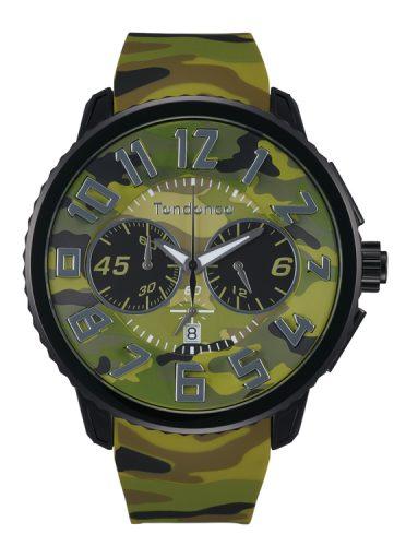 テンデンス tendence 腕時計 watch ミリタリー CAMOUFLAGE カモフラージュ カモ柄