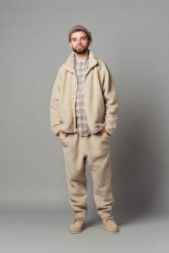 Cold weather fleece jacket