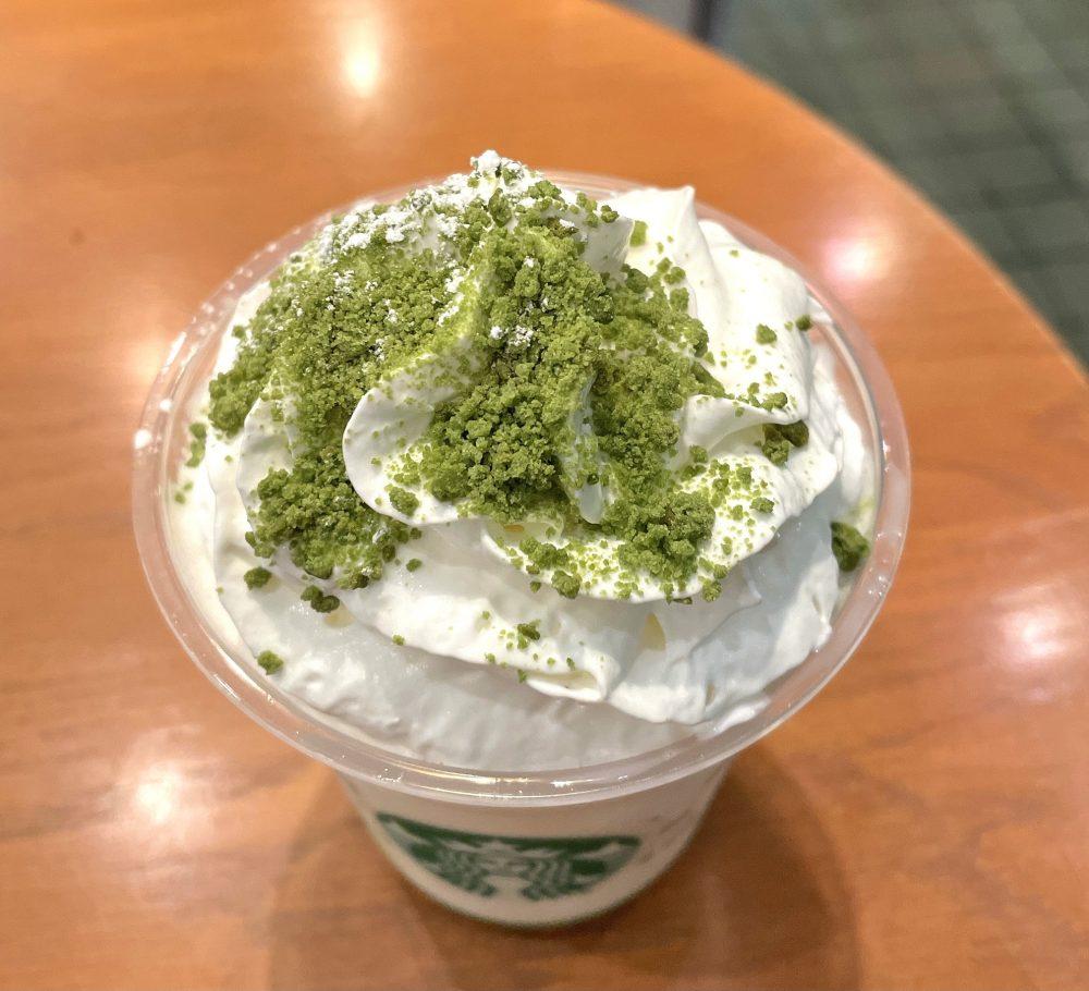 抹茶×抹茶 ホワイト チョコレート フラペチーノ