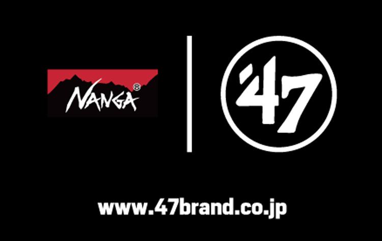 nanga ナンガ '47 キャップ アウトドア コラボ