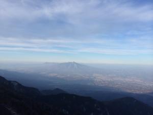 登山 冬山