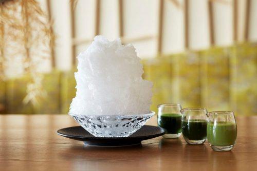 利き茶かき氷