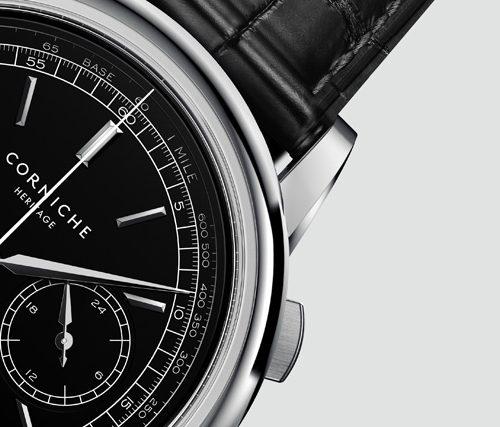 コーニッシュ 腕時計 クロノグラフ