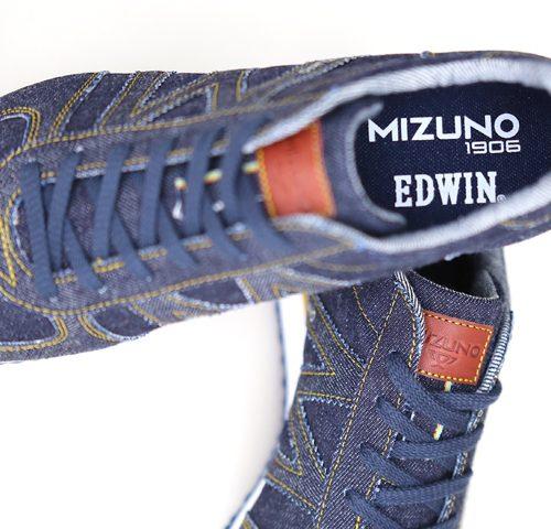 MIZUNO EDWIN ミズノ エドウイン コラボスニーカー スニーカー