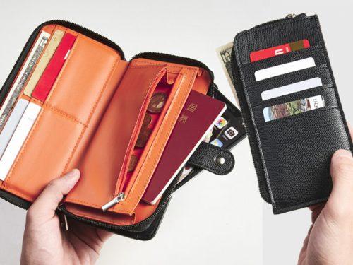 ビームス BEAMS 長財布 極薄財布