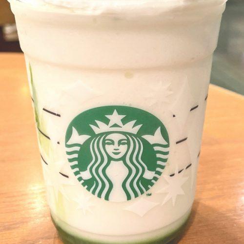 抹茶×抹茶 ホワイトチョコレート フラペチーノ