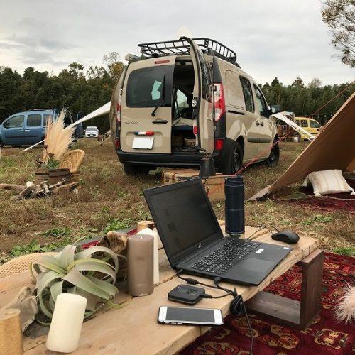 KANGOO CAMP 2020 カングー キャンプ ルノー ワーケーション