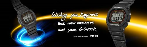 G-shock,復元,ジーショック