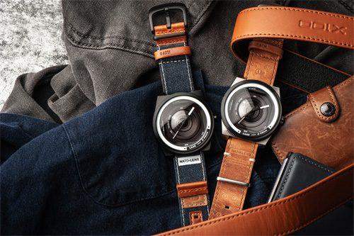 本革ストラップでカメラ感が増したNATO LENSの新モデル!